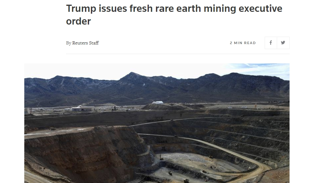 十一長假第一天,美國采礦業傳出重大噩耗,稀土問題已經力不從心-圖2
