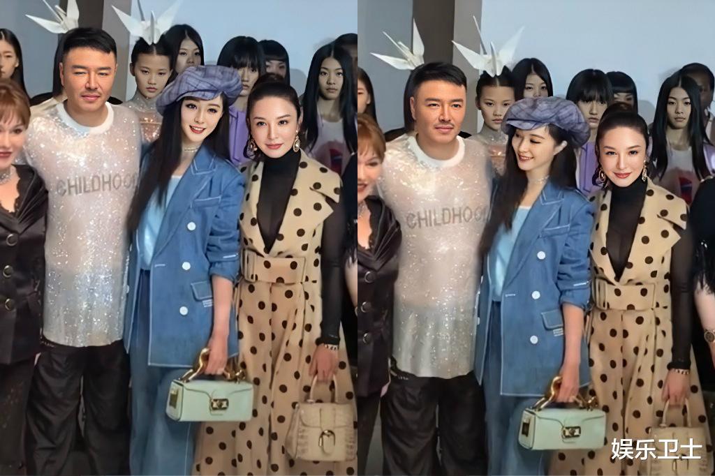范冰冰參加上海時裝周,被特殊照顧顯大花身份,與馬蘇同框全程避嫌無交流-圖8