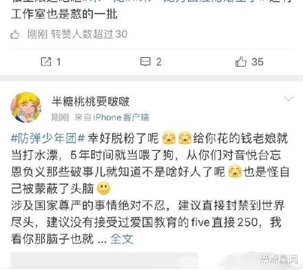 防彈少年團涉辱華言論引公憤,粉絲紛紛發文宣佈脫粉-圖5