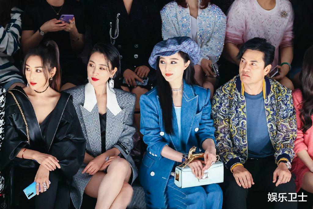 范冰冰參加上海時裝周,被特殊照顧顯大花身份,與馬蘇同框全程避嫌無交流-圖2