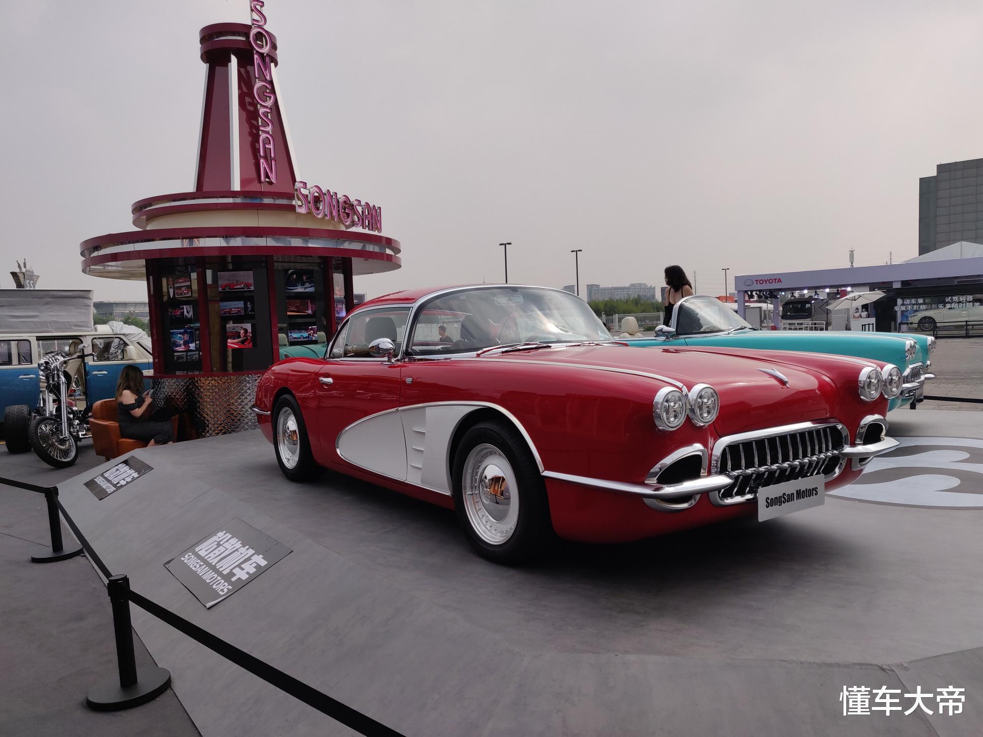 """北京車展上的""""另類比亞迪"""",復古雙門敞篷跑車,居然要賣60萬-圖2"""