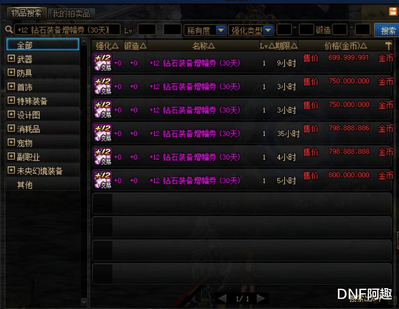 DNF:可交易ss武器VS天帝劍,陽劍提升不是吹的,吊打改6及以下-圖5