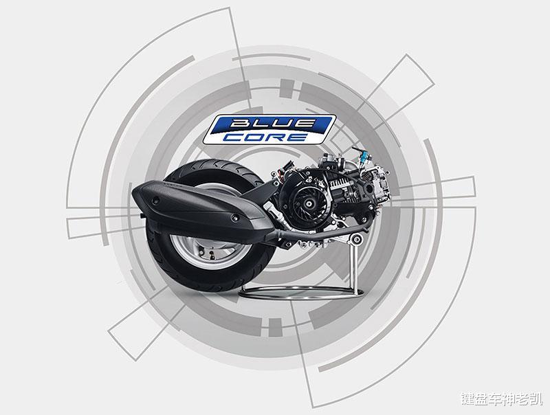 雅馬哈發佈新復古踏板Vinoora 125,外觀猶如呆萌青蛙-圖6