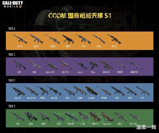 使命召唤手游:看到最新枪械排行榜,萌新把所有经验卡砸给AN94!