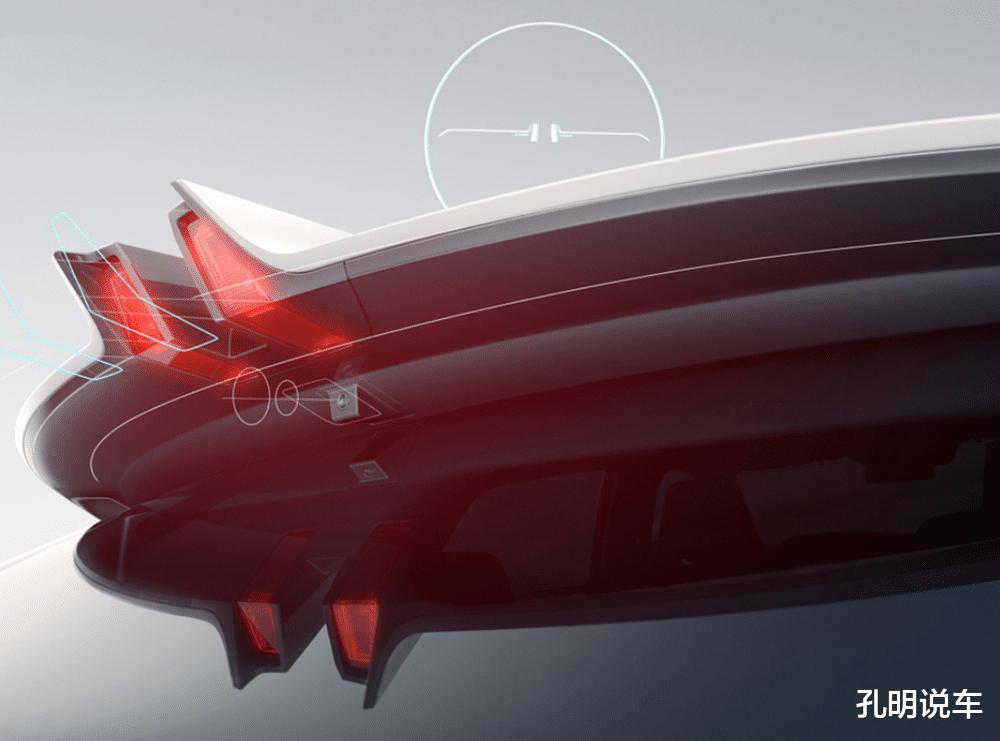 長安引力第二款SUV定妝照,雙尾翼+貫穿燈!意大利設計師沒白請-圖7