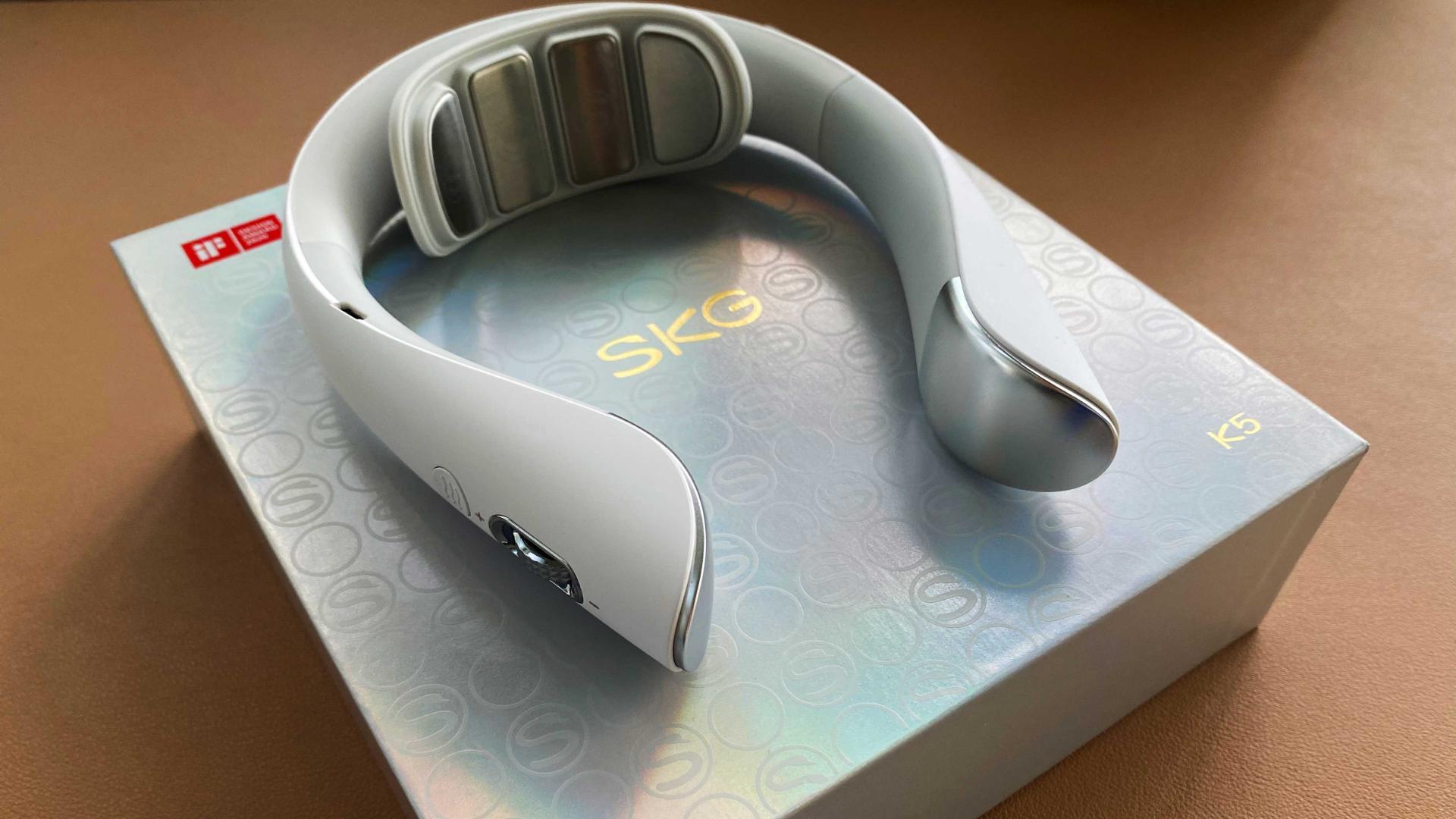 低头族,电脑长期工作者找到了知音,sk5颈椎按摩仪简单评测体验