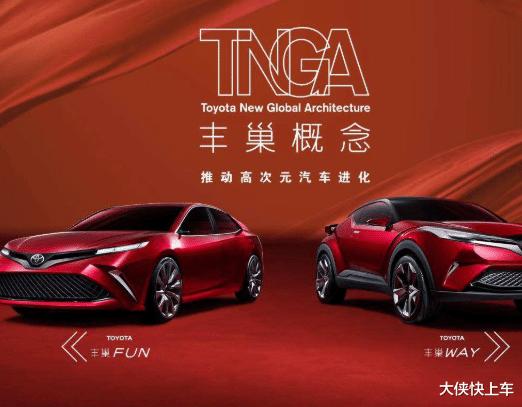 豐田本屆,首次展出的兩款全新TNGA車型,無疑是最大亮點-圖2