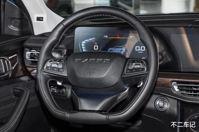 自主高端SUV再添實力幹將,星途VX空間寬敞,實用好開適合傢用-圖10