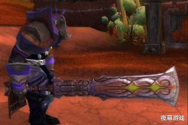 兄弟會之劍升級版!邪惡力量巨劍,魔獸世界懷舊服NAXX極品雙手劍-圖2