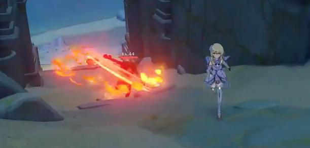 cf永久武器_《原神》中的哪些怪物最难缠?风魔龙表示自己只是个弟弟-第3张图片-游戏摸鱼怪