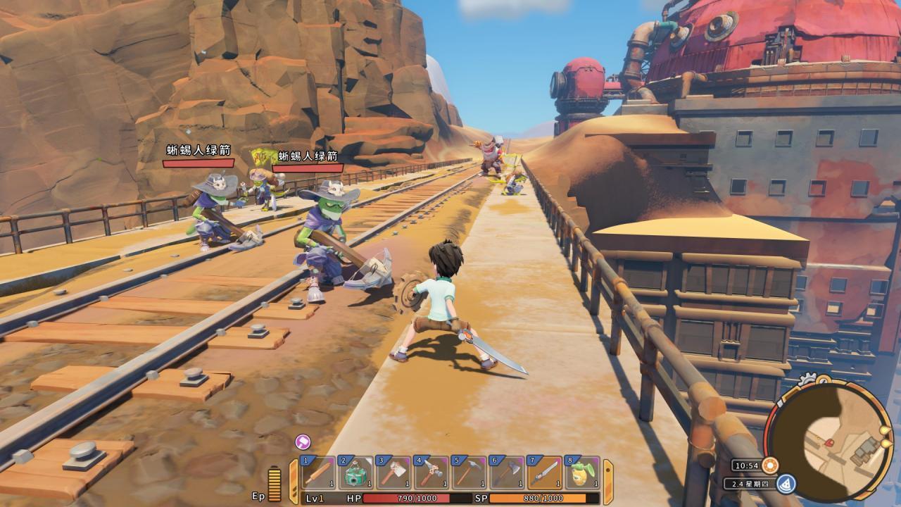 冒险岛爆萌天使_最初是个DLC! 《沙石镇时光》NS版要等到2020-第2张图片-游戏摸鱼怪