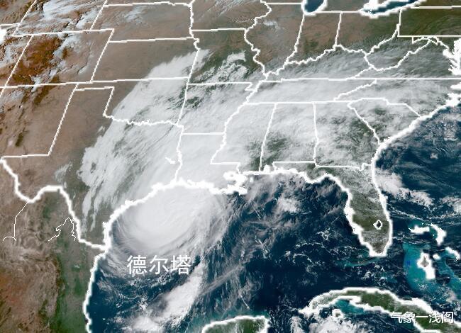 再次增強到16級,風暴德爾塔或馬上登陸,大暴雨紮堆襲擊美國-圖5