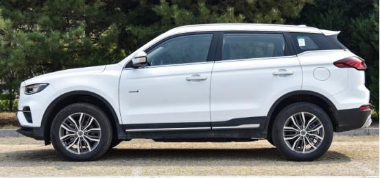 吉利新款SUV,時尚的展現也可以滿足各年齡段-圖4