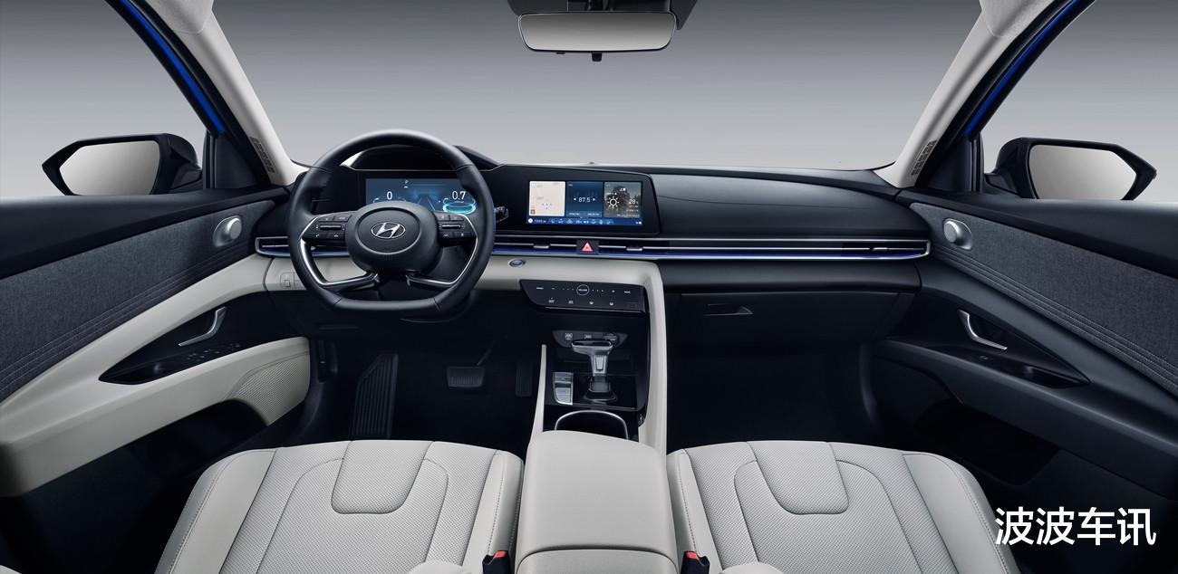 全新國產現代伊蘭特實車亮相,整車顏值很高,北京車展預售-圖7