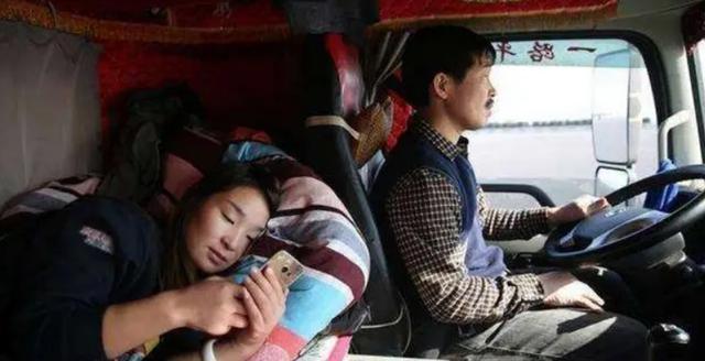 長途大貨車司機為啥總帶個女人,還不是夫妻關系?實情太心酸!-圖4