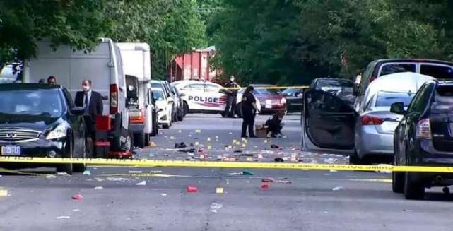 21人死傷!華盛頓爆發特大槍擊案!現場血流成河,3槍手成功逃脫-圖6