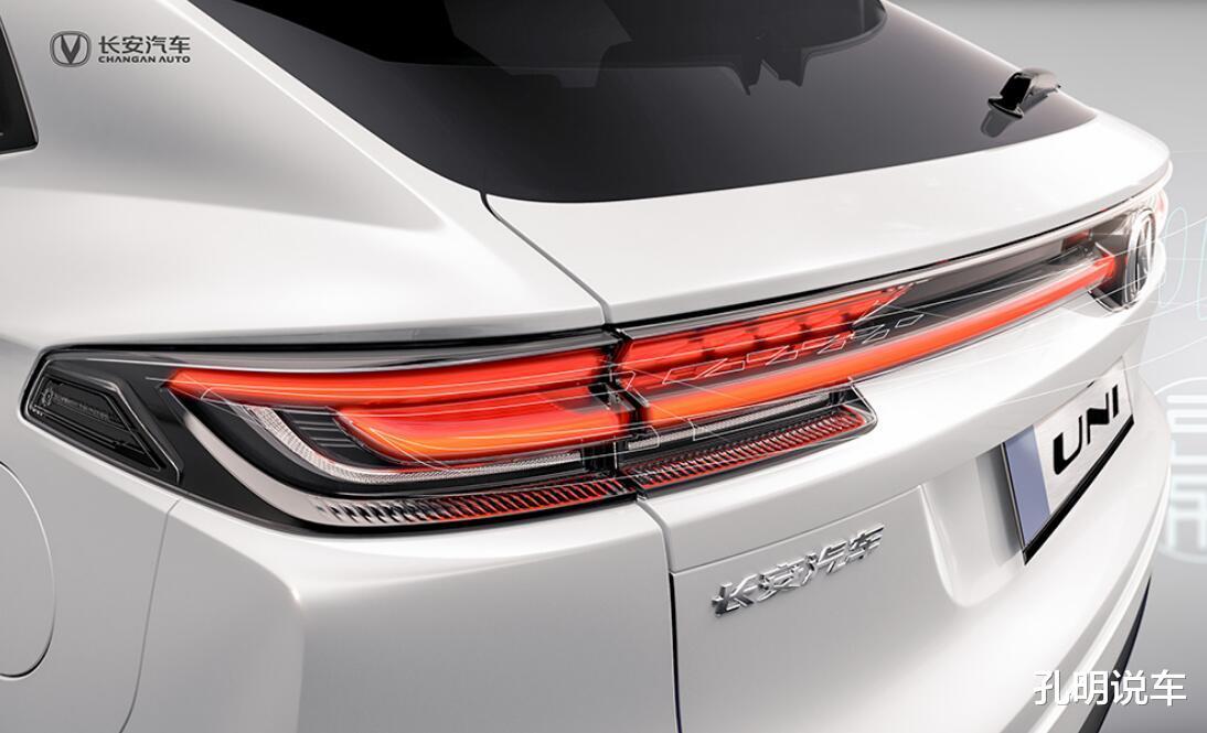 長安引力第二款SUV定妝照,雙尾翼+貫穿燈!意大利設計師沒白請-圖3