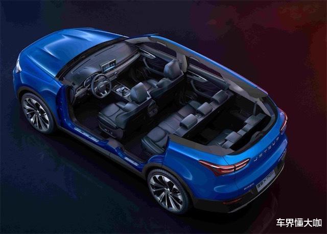 全新捷途X70品味提升,變身6.99萬豪華SUV,配4根尾排-圖4