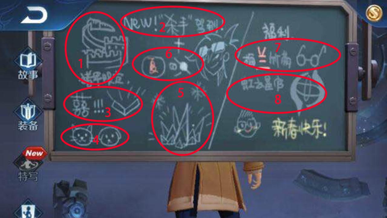 諸葛亮的小黑板4年內究竟爆料瞭多少信息?39條塗鴉彩蛋匯總,信息量極大-圖8