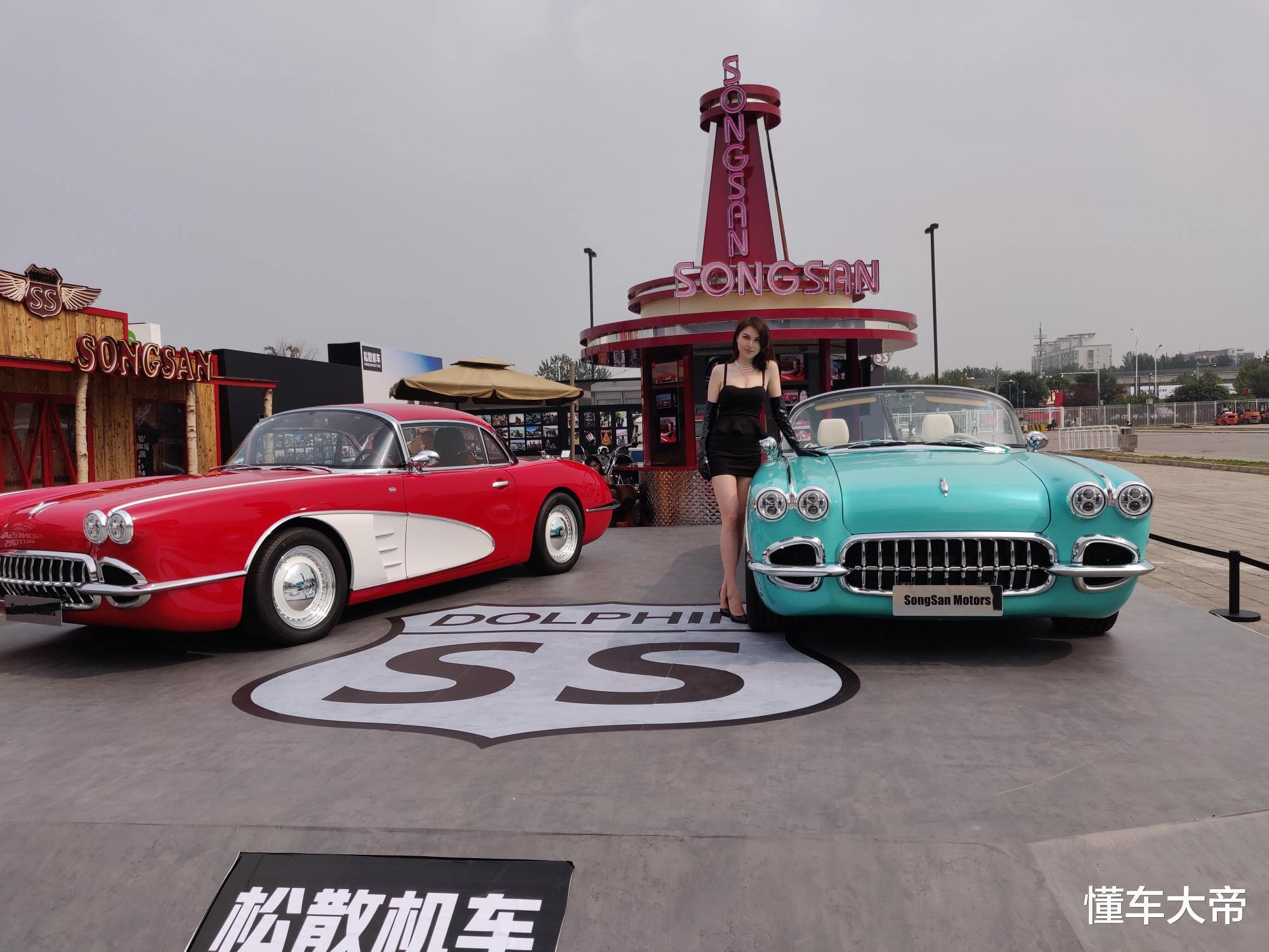 """北京車展上的""""另類比亞迪"""",復古雙門敞篷跑車,居然要賣60萬-圖3"""