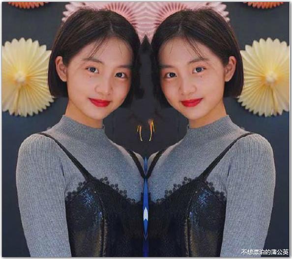 黃磊小女兒慶生,14歲多多成焦點,一件毛衣穿兩年,眼神也變瞭-圖2