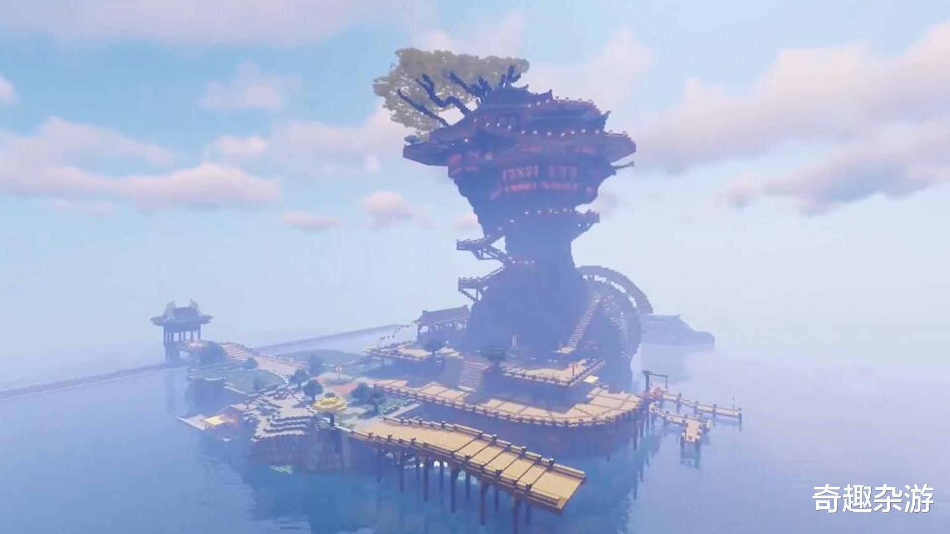 天希大航海时代ol_用《我的世界》的方式打开《原神》,看看不一样的提瓦特大陆-第5张图片-游戏摸鱼怪