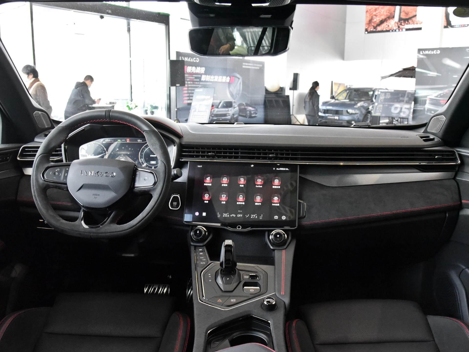 這臺外觀個性的領克SUV你會喜歡嗎,實拍領克05-圖5