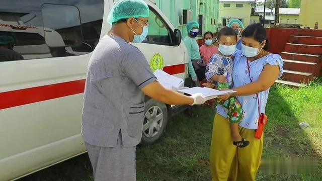 緬甸若開邦實兌市出院26人,累計668人出院-圖2