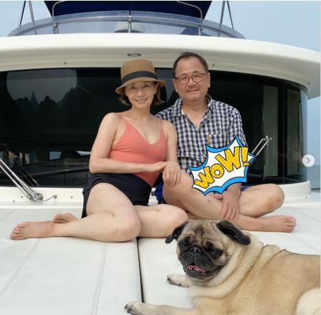 60歲毛舜筠曬近照,與75歲老公似父女,曾後悔拒絕張國榮求婚-圖9