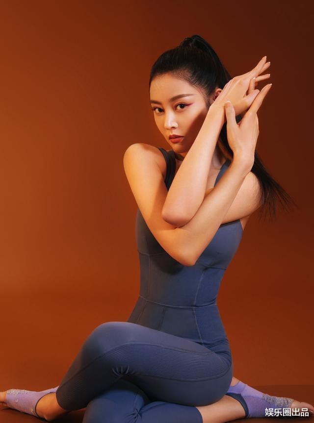 張天愛重新定義瞭健身衣,她穿健身衣拍封面照,美出瞭國際范-圖3