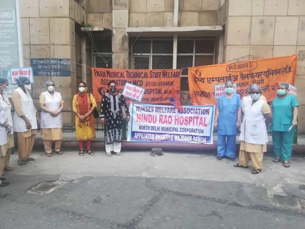 印度政府沉迷軍火,導致醫護人員罷工,新冠感染累計突破700萬-圖2