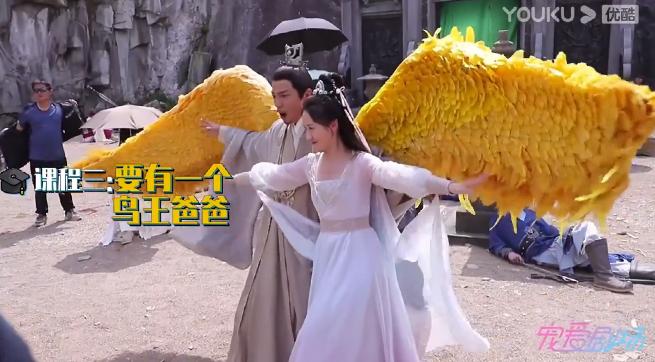 《琉璃》花絮:大公主搶璇璣定坤,褚磊拔毛想要大翅膀,好多沙雕-圖6