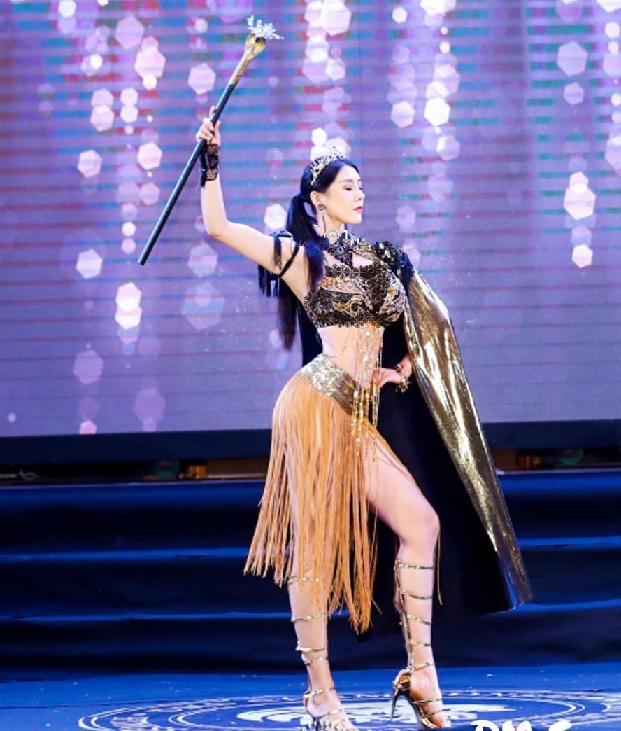 健身美女劉太陽火瞭!身材超過美國卡戴珊,曾是世界旅遊小姐冠軍-圖2