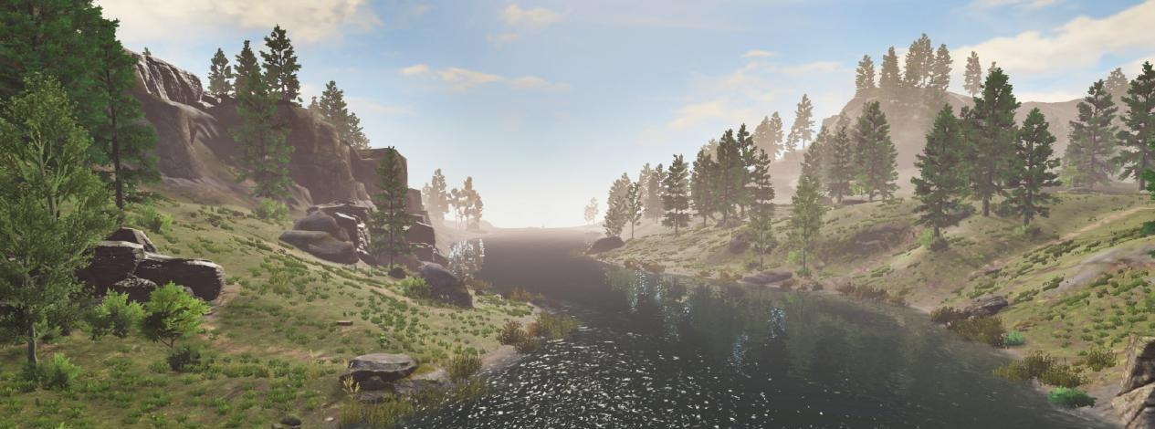 奥拉星白虎怎么打_这款生存游戏画面有多美?玩家差点因沉迷风景而忘记求生-第6张图片-游戏摸鱼怪