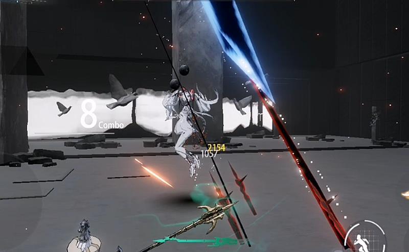 协助艾维娜_《战双帕弥什》:露娜灭了北极航线,展示的技能非常酷炫-第6张图片-游戏摸鱼怪