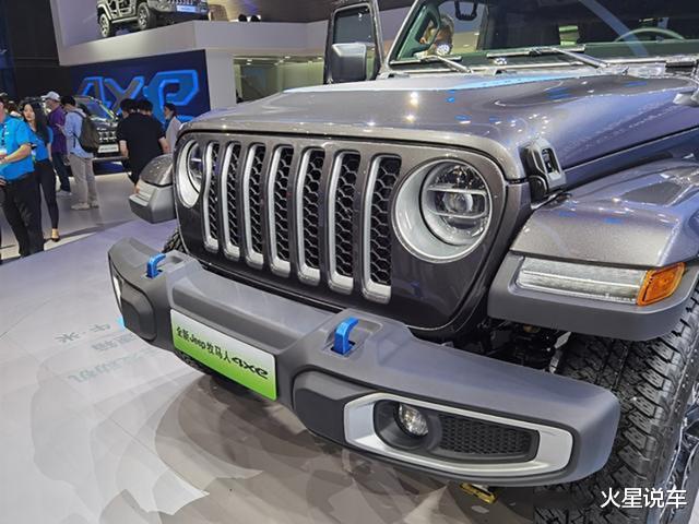 Jeep全新越野車亮相北京車展,網友:買不起大G就看它-圖2