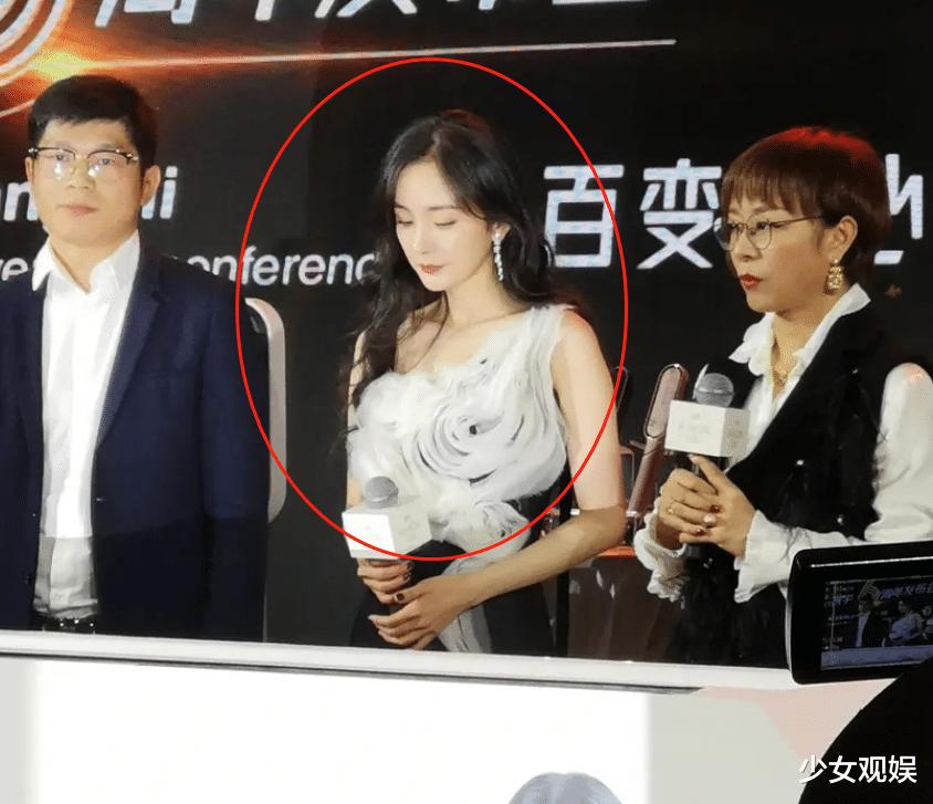 楊冪現身品牌會場,站姐無濾鏡抓拍,34歲生圖狀態好真實-圖4