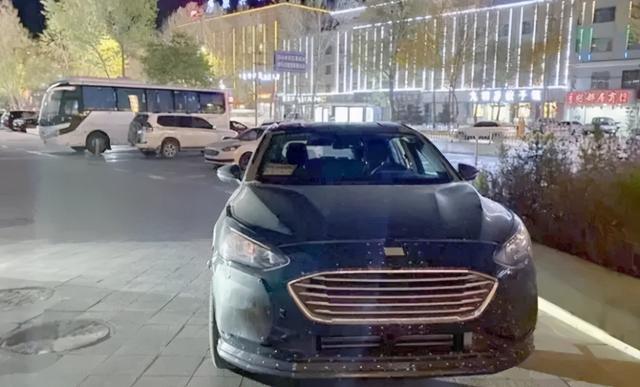 劲舞团官方网站下载_蒙迪欧变身旅行车?车身比例怪异,福特全新跨界车曝光
