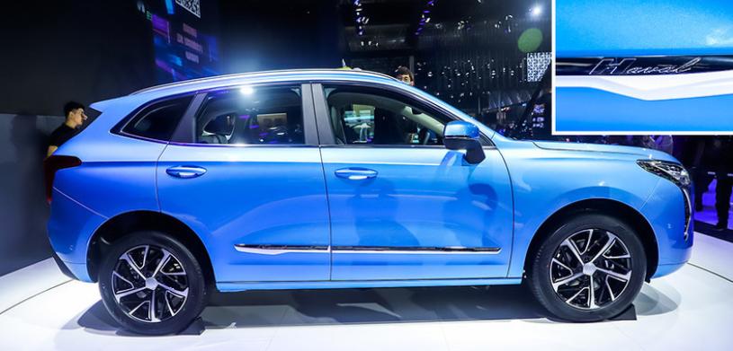 哈弗推出全新車型哈弗初戀,與哈弗H6相似,外觀設計小巧時尚-圖3