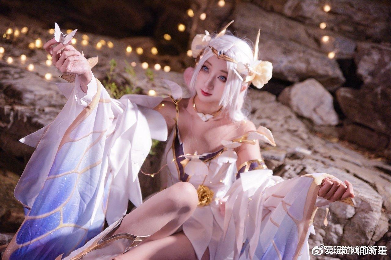 """王者榮耀cos貂蟬:""""你是我藏在星星裡的浪漫""""-圖2"""