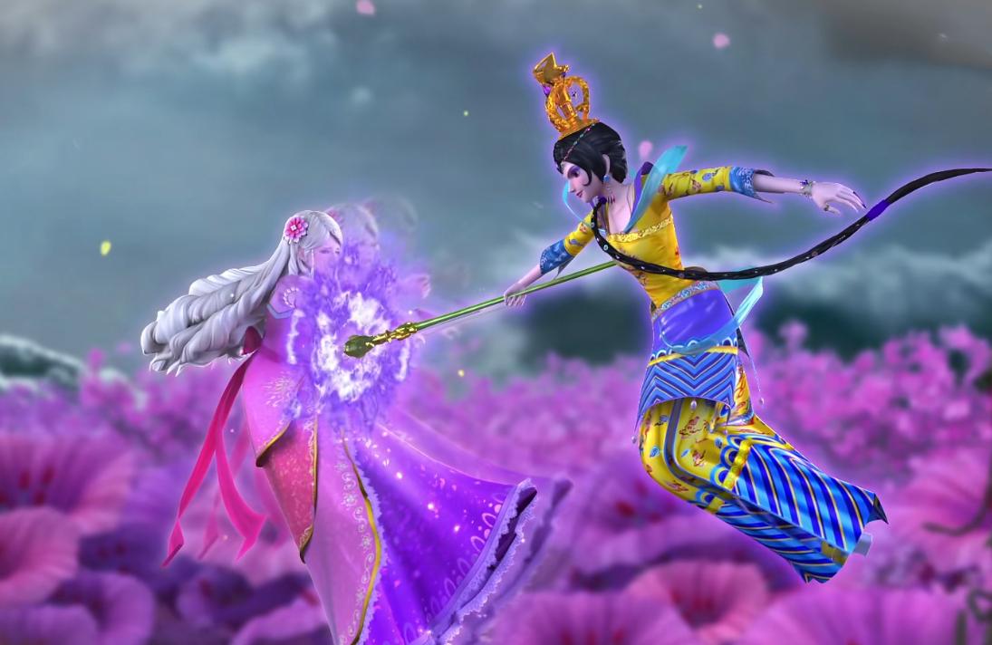 葉羅麗:靈公主從出現開始,一直被挨打從沒停止過,成為最慘角色-圖3
