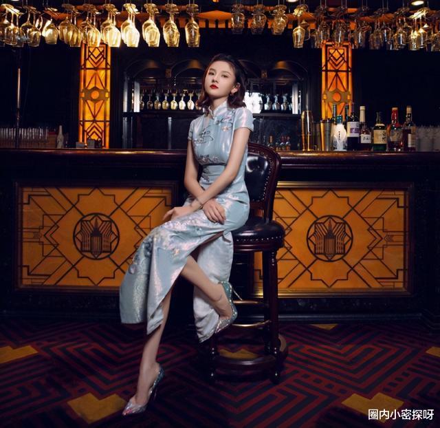 宋祖兒穿旗袍扮雪姨,收放自如不輸王琳,懂為啥男人不喜歡瘦的瞭-圖10