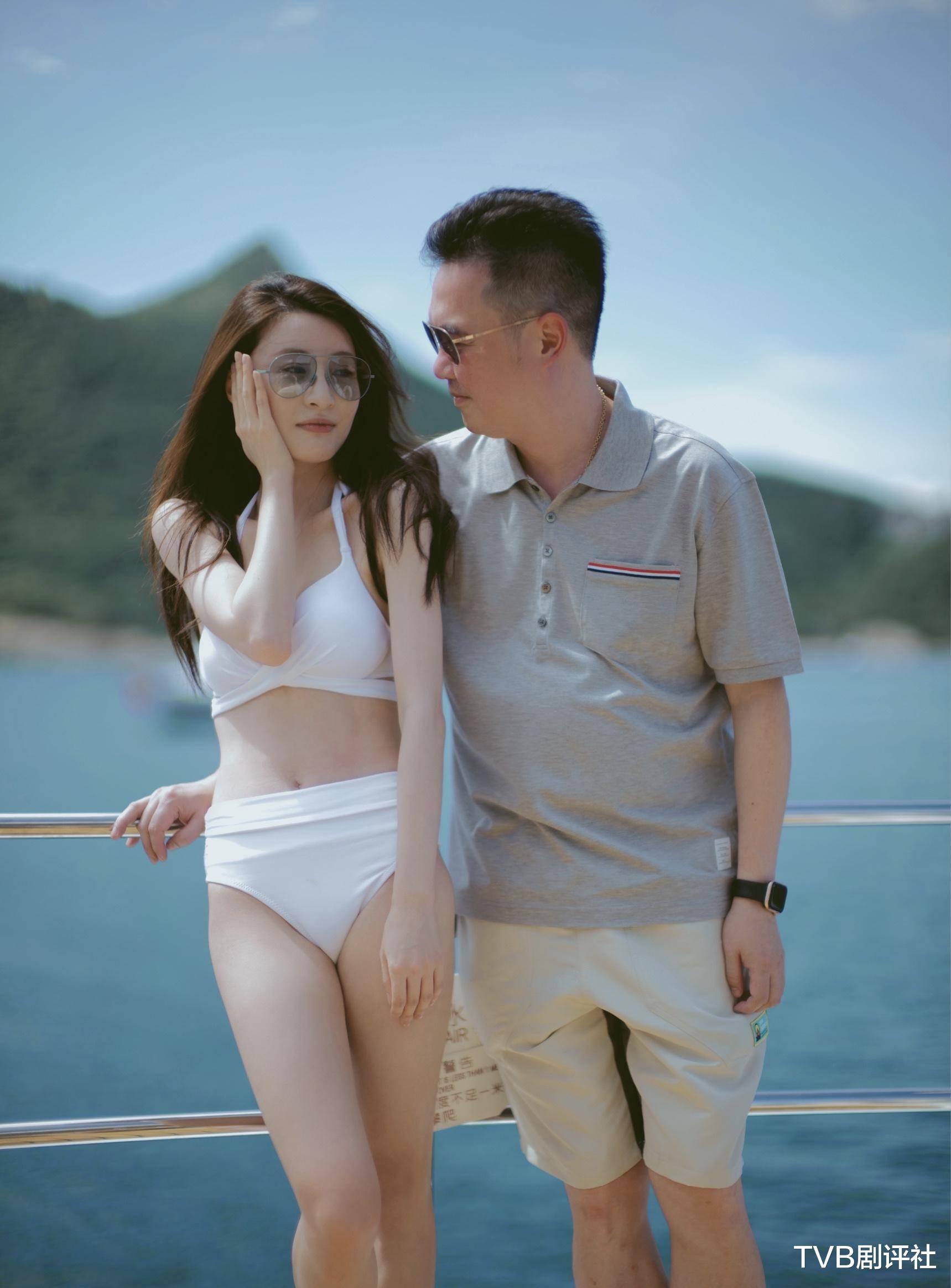 林夏薇素顏做運動被指太瘦 嫁豪門曾被網友認為被騙今生活幸福-圖8