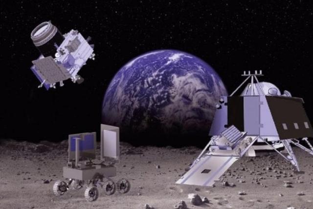 印度飛船發現月球生銹,月船-3號隻帶著陸器和月球車-圖5