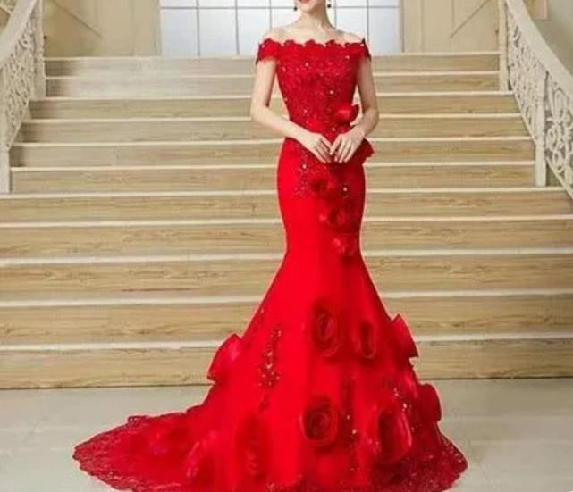 心理測試:你認為哪款紅色嫁衣最醜?測今生最愛你的人是誰-圖3