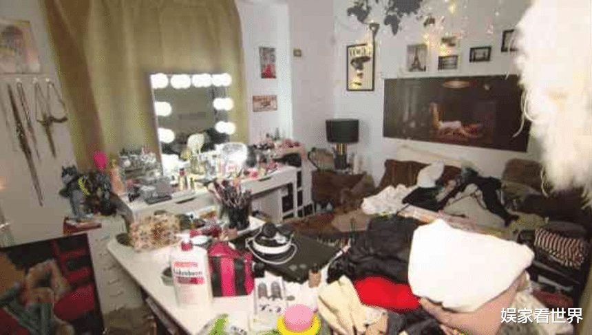 身傢30億吸毒女星閨房曝光,網友:真的是人住的房間嗎?-圖4