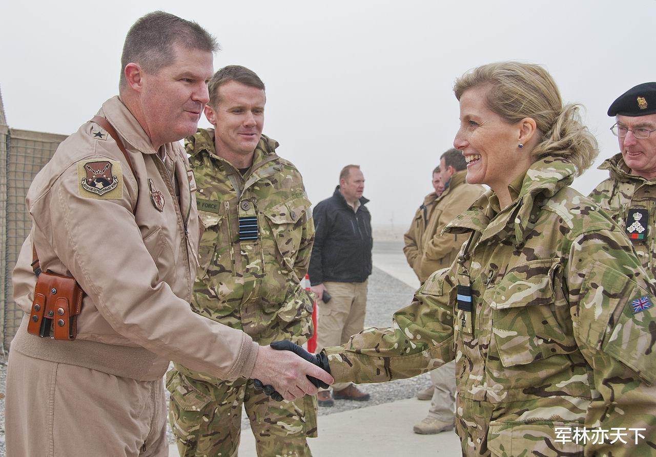 韋塞克斯伯爵夫人,英國女王的小兒媳,空軍準將,擔任7個軍職-圖3
