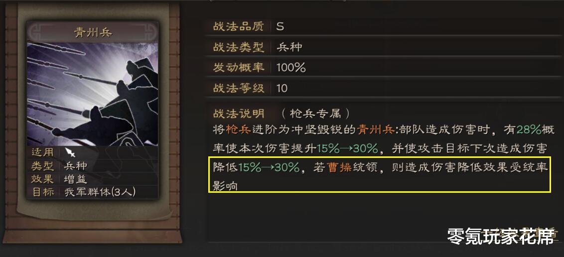 三國志戰略版:曹操搭配據水斷橋戰法很爽,降低敵人60%輸出-圖3