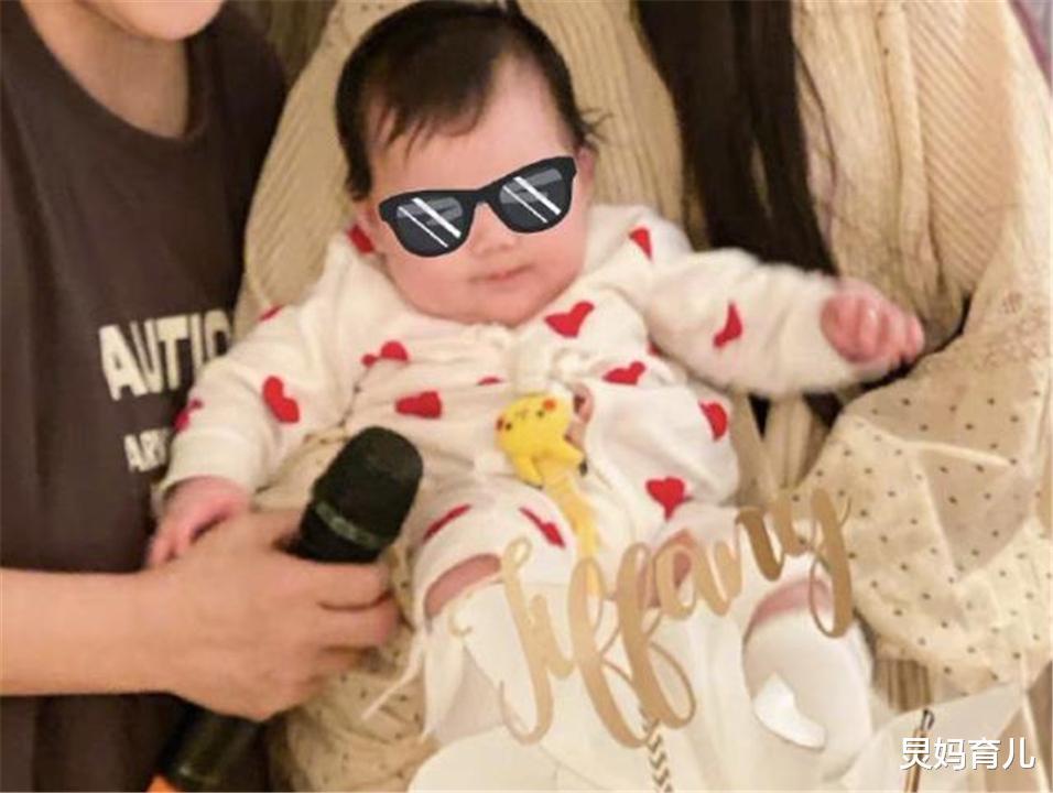 郭碧婷女兒正面照曝光,本來擔心向佐基因太強,看清娃後:放心瞭-圖3