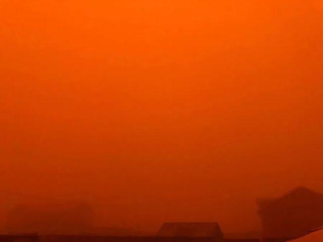 沙塵暴,韓國人別急著給中國扣帽子!刀哥就在蒙古國現場-圖5